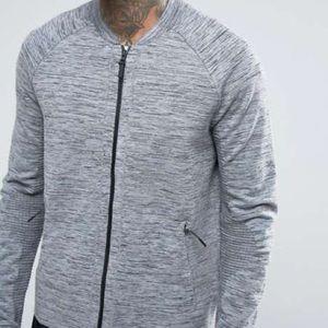 Nike Jackets & Coats - Nike Tech Knit Bomber Jacket 832178-060